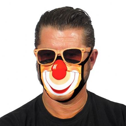 Clown Trendy Face Mask